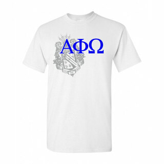 Alpha Phi Omega Greek Crest T-Shirt