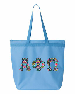 Alpha Phi Omega Greek Letter Liberty Bag