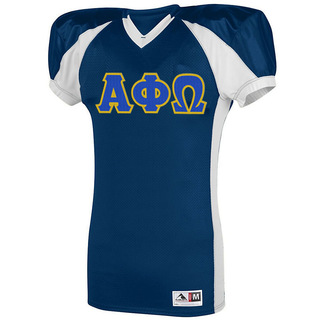 Alpha Phi Omega Snap Football Jersey