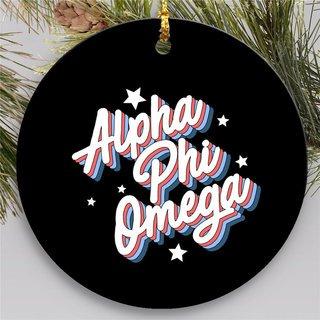 Alpha Phi Omega Holiday Flashback Ornaments