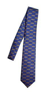 Alpha Phi Omega Lettered Woven Necktie