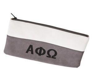 Alpha Phi Omega Letters Cosmetic Bag