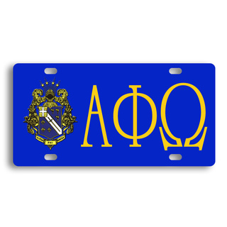 Alpha Phi Omega License Cover