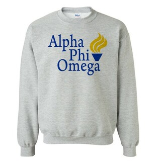 Alpha Phi Omega Logo Crewneck Sweatshirt