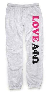 Alpha Phi Omega Love Sweatpants
