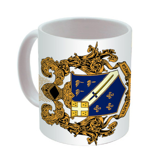 Alpha Phi Omega Mega Crest - Shield Coffee Mug