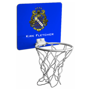 Alpha Phi Omega Mini Basketball Hoop