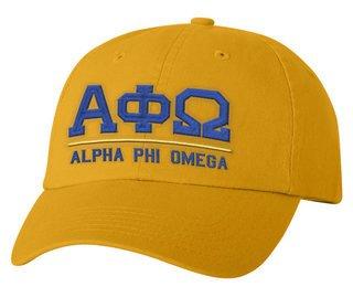 Alpha Phi Omega Old School Greek Letter Hat