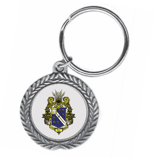 Alpha Phi Omega Pewter Key Ring