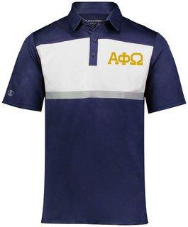 Alpha Phi Omega Prism Bold Polo