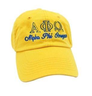 Alpha Phi Omega Script Cap