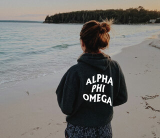 Alpha Phi Omega Social Hoodie