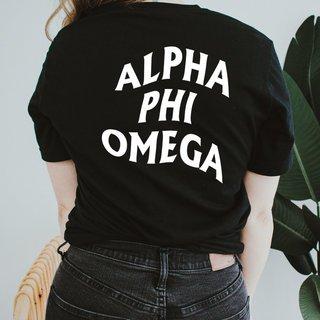 Alpha Phi Omega Social Tee