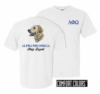 Alpha Phi Omega Stay Loyal Comfort Colors T-Shirt