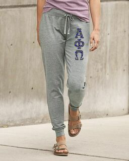 Alpha Phi Omega Stretch Terry Sorority Pants