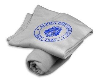 Alpha Phi Omega Sweatshirt Blanket