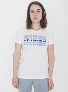 Alpha Phi Omega Thank You For Shopping Tee - Comfort Colors