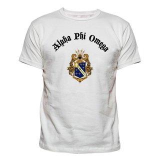 Alpha Phi Omega Vintage Crest - Shield T-shirt