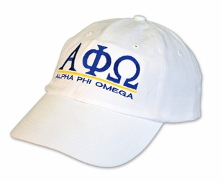 Alpha Phi Omega World Famous Line Hat - MADE FAST!