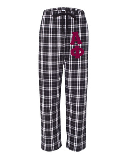 Alpha Phi Pajamas -  Flannel Plaid Pant