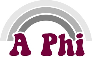 Alpha Phi Rainbow Decals