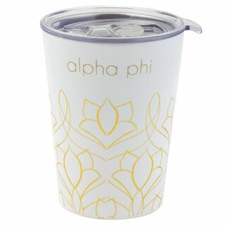 Alpha Phi Short Coffee Tumblers