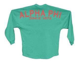 Alpha Phi Since Jersey