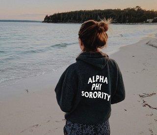 Alpha Phi Social Hoodie