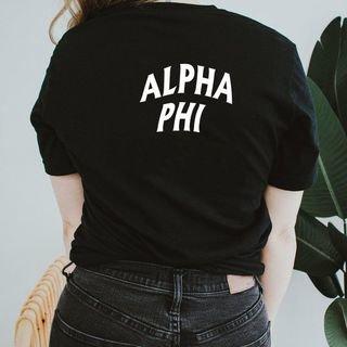 Alpha Phi Social Tee