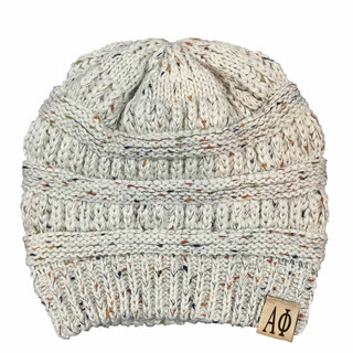 Alpha Phi Sorority CC Messy Bun Beanies