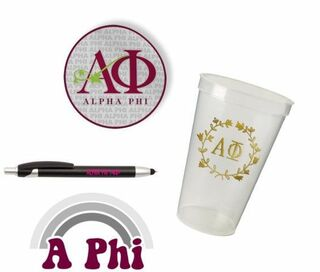 Alpha Phi Sorority For Starters Collection $9.99