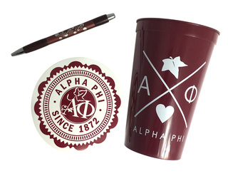 Alpha Phi Sorority For Starters Collection $8.95