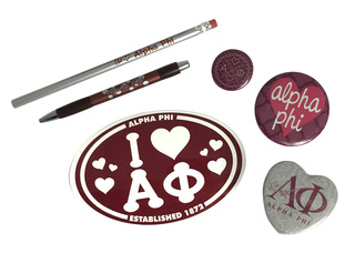 Alpha Phi Sorority Large Pack $15.00