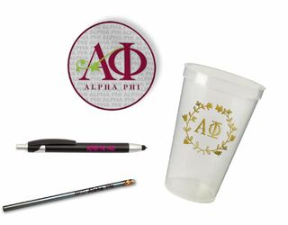 Alpha Phi Sorority Mascot Set $8.99