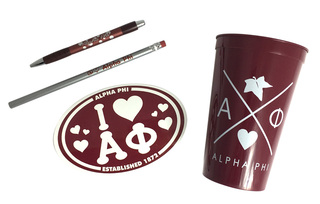 Alpha Phi Sorority Love Set $8.95