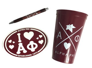 Alpha Phi Sorority Medium Pack $7.50