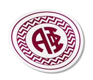 Alpha Phi Sorority Monogram Bumper Sticker