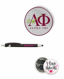 Alpha Phi Sorority Pack $5.99