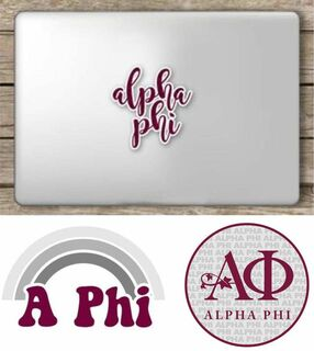 Alpha Phi Sorority Sticker Collection - SAVE!