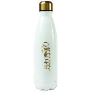 Alpha Phi Stainless Steel Shimmer Water Bottles