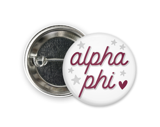 Alpha Phi Star Button