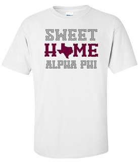 Alpha Phi Sweet Home Tee