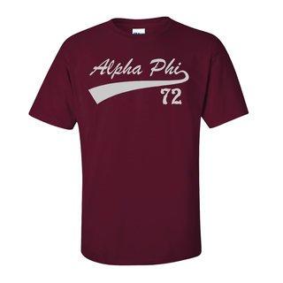 Alpha Phi Tail T-Shirts