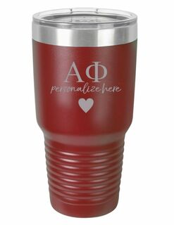 Alpha Phi Vacuum Insulated Tumbler