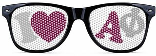 Alpha Phi Wayfarer Style Lens Sunglasses