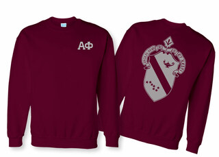 Alpha Phi World Famous Crest Crewneck Sweatshirt- $25!