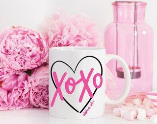 Alpha Phi XOXO Mug