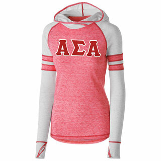 DISCOUNT-Alpha Sigma Alpha Advocate Lettered Hoody