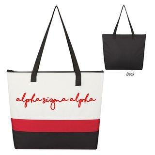Alpha Sigma Alpha Affinity Tote Bag