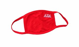 Alpha Sigma Alpha Applique Face Masks